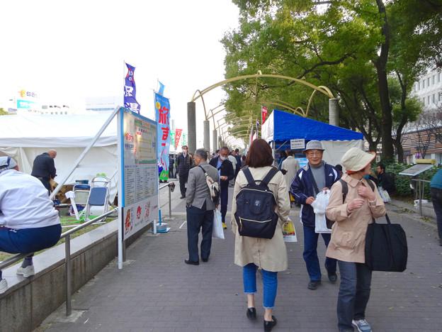 写真: 旅まつり名古屋 2017 No - 1:沢山の人で賑わう会場