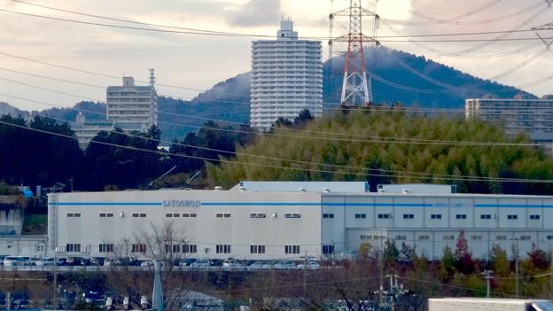 市営下原住宅から見たスカイステージ33 - 2