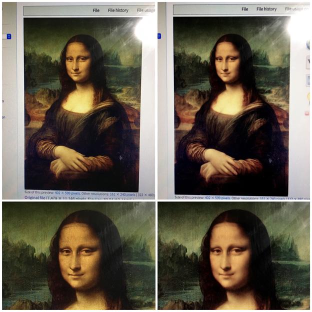 多機能写真・動画撮影&編集アプリ「Musemage」- 17:撮影オプション使用時比較(デフォルトと「顔やせ」)