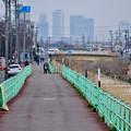 写真: 八田川沿いから見えた名駅ビル群 - 8