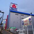 建物の外観がほとんど完成してた、ヤマダ電機テックランド春日井店(2017年3月25日) - 2