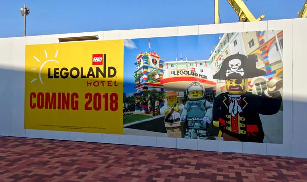 正式オープン翌日(2017年4月2日)のレゴランド - 15:2018年にホテルがオープン!