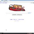 写真: Googleトップページ・ホリデーロゴがひな祭り♪