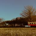 写真: 田舎の冬の風景
