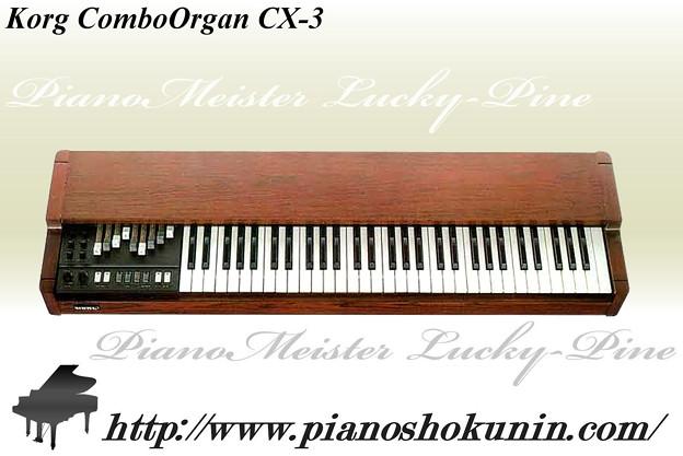 Korg ComboOrgan CX-3