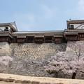 松山城の最後尾
