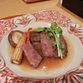 焼物 特選国産牛のステーキ添え野菜