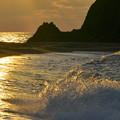 Photos: 波の姿
