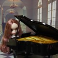 グランドピアノ(^_-)-☆