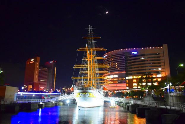 日本丸メモリアルパーク #横浜 #yokohama #mysky #日本丸 #みなとみらい #nightview #夜景