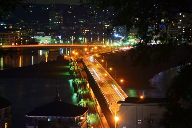 江ノ島大橋 #湘南 #藤沢 #江ノ島 #nightview #夜景