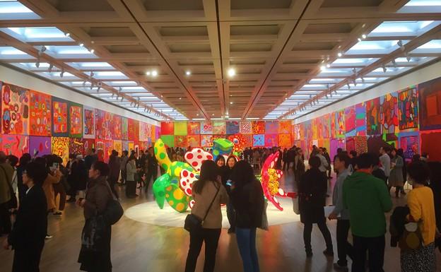草間彌生 わが永遠の魂 #国立新美術館 #草間彌生 #art #東京 #tokyo