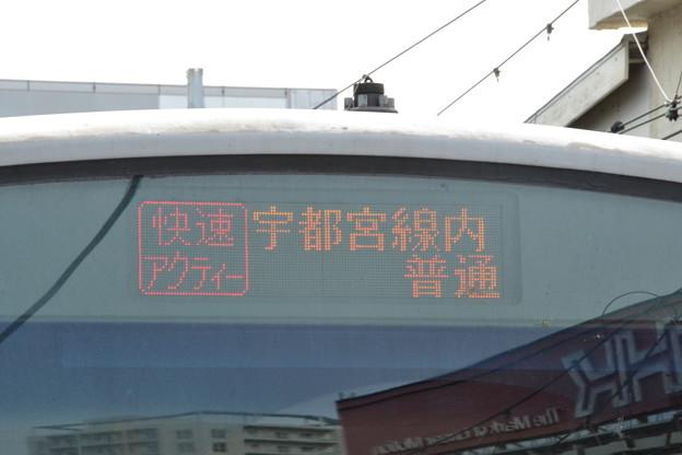 行先表示器 (E231系1000番台 宮ヤマU53編成) [東海道線 品川駅]
