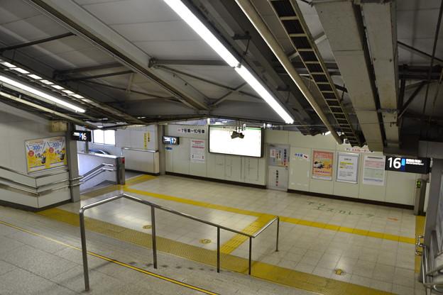 特急ホームへと続く階段 [上野駅]