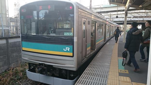 205系1000番台 横ナハワ3編成 [JR 浜川崎駅]