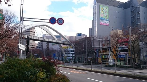 千葉駅前大通りと元千葉PARCO [千葉市中央区]