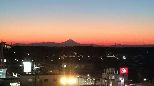 写真: 一応2017年初富士…
