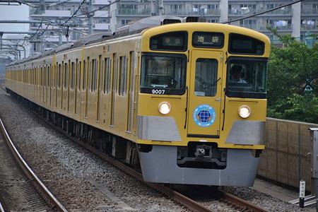 西武9000系@中村橋駅