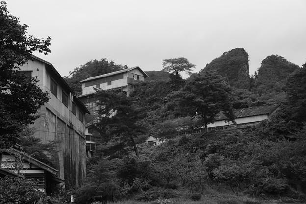 佐渡鉱山跡と建物群