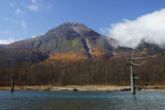 大正池からの焼岳