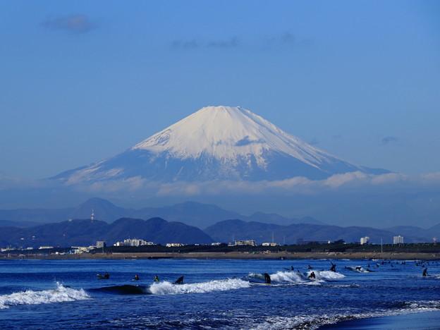 海と富士山02