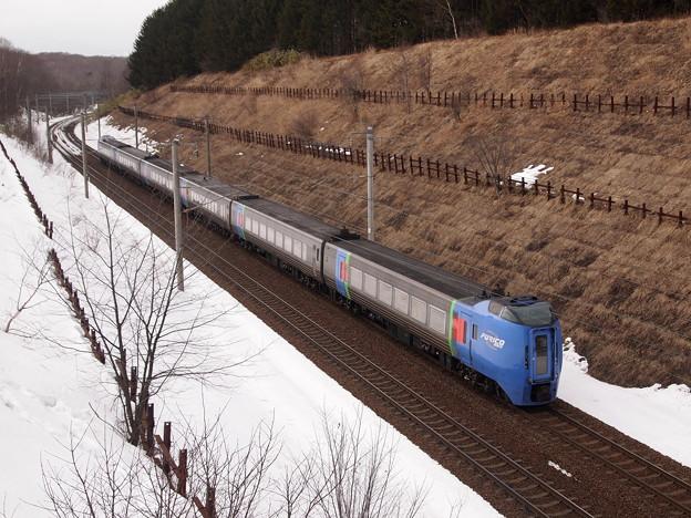 キハ283系スーパーおおぞら 千歳線上野幌~北広島