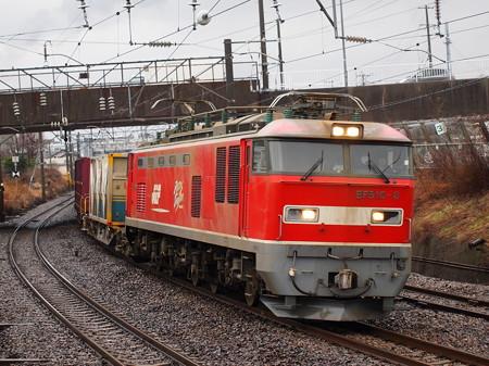 EF510貨物 奥羽本線秋田~土崎