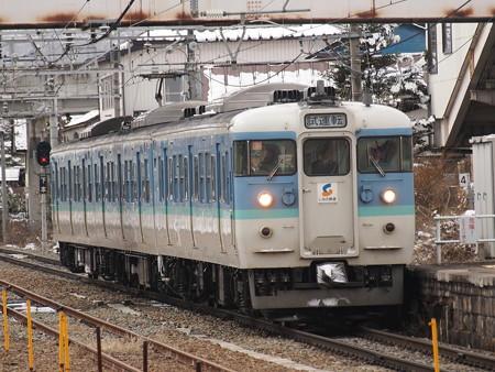 115系試運転 信越本線豊野駅01