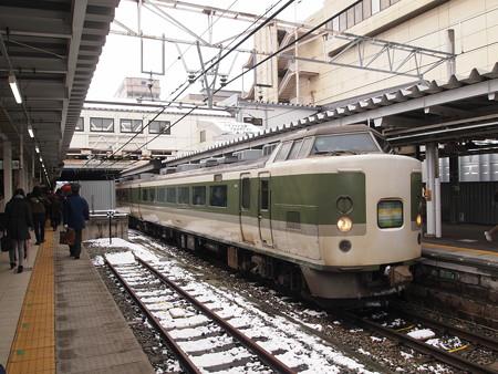 189系妙高 信越本線長野駅01