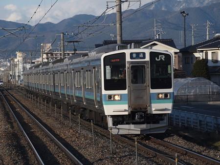 211系普通篠ノ井線平田駅02