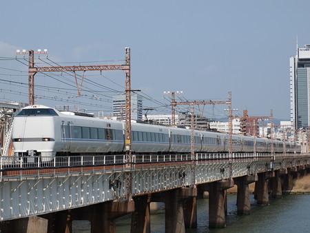 683系特急サンダーバード 東海道本線新大阪~大阪01