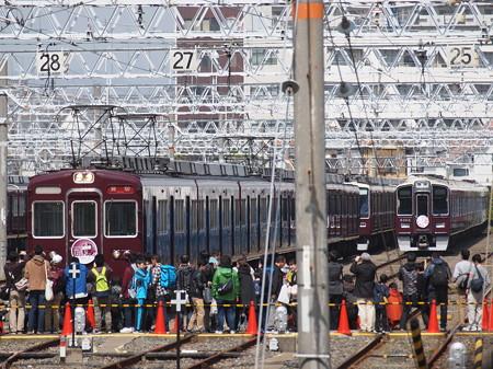阪急2300系ラストラン 阪急京都線正雀駅04