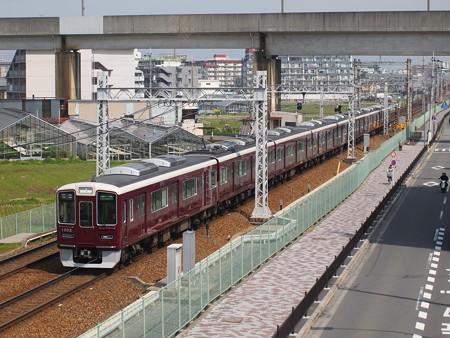 阪急1300系準急 阪急京都線茨木市~南茨木