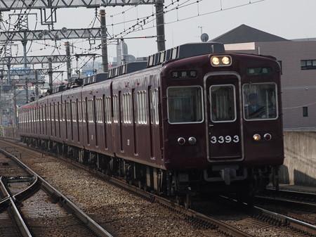 阪急3300系準急 阪急京都線茨木市駅01