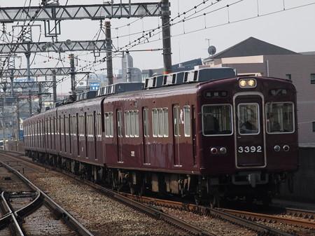 阪急3300系普通 阪急京都線茨木市駅02