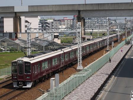 阪急9300系特急 阪急京都線茨木市~南茨木01