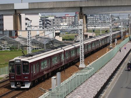 阪急9300系特急 阪急京都線茨木市~南茨木04