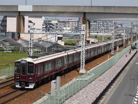 阪急9300系特急 阪急京都線茨木市~南茨木05