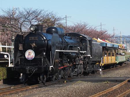 C61 SLスチーム号 梅小路蒸気機関車館03