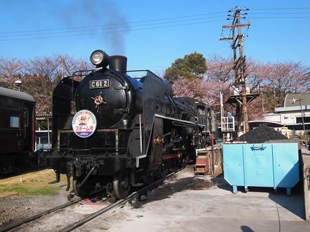 C61 回送  梅小路蒸気機関車館06