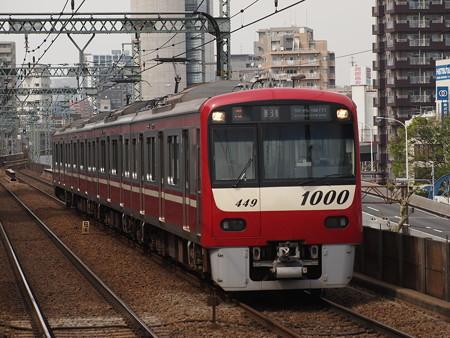 京急新100形普通 京急本線青物横丁駅03