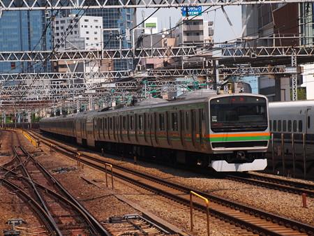 E231系回送 東海道本線新橋~品川