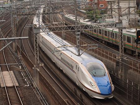 W7系はくたか 東北新幹線大宮~上野