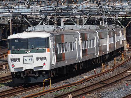 185系快速足利藤まつり号 東北本線上野~尾久