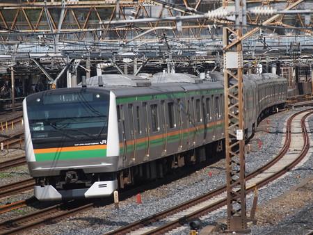 E233系回送 東北本線上野~尾久