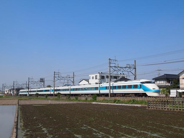 Photos: 東武100系きぬ 東武伊勢崎線東武動物公園前~姫宮02