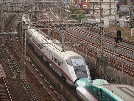 E3系なすの 東北新幹線大宮~上野