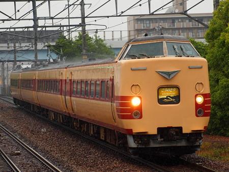 381系特急こうのとり 福知山線伊丹駅