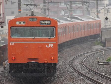 103系普通 大阪環状線芦原橋駅