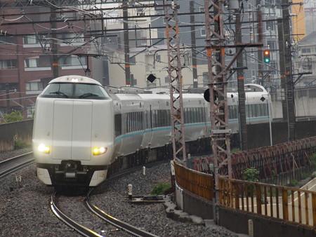 287系特急くろしお 大阪環状線芦原橋駅